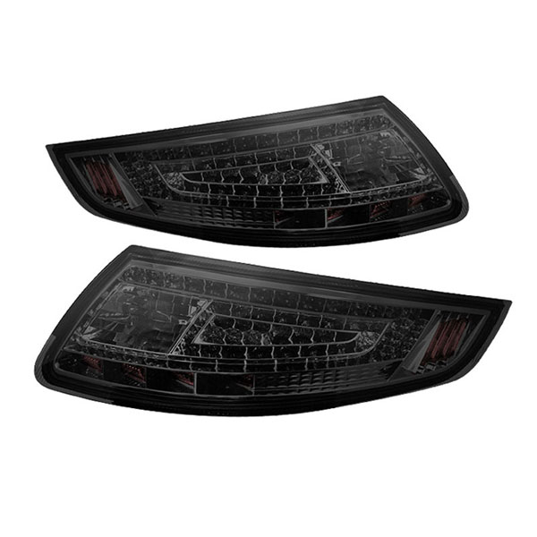 xTune ALT-ON-P99705-LED-SM:  Porsche 911 997 05-08 LED Tail Lights - Smoke