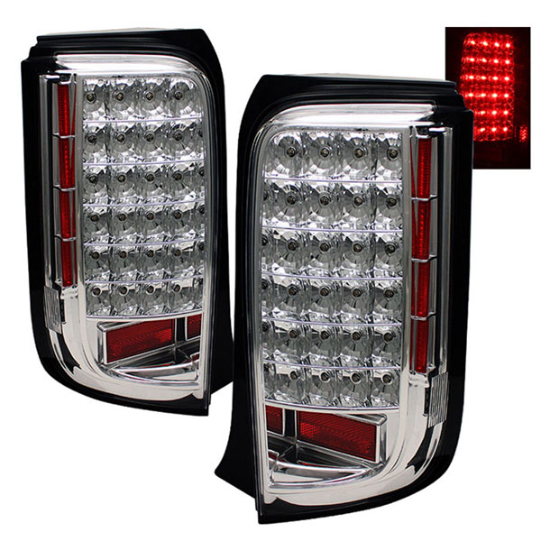 xTune ALT-ON-TSXB08-LED-C:  Scion XB 08-10 LED Tail Lights - Chrome