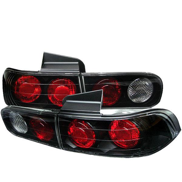 Spyder 5000200 |  Acura Integra 94-01 4Dr Altezza Tail Lights - Black  - (ALT-YD-AI94-4D-BK)