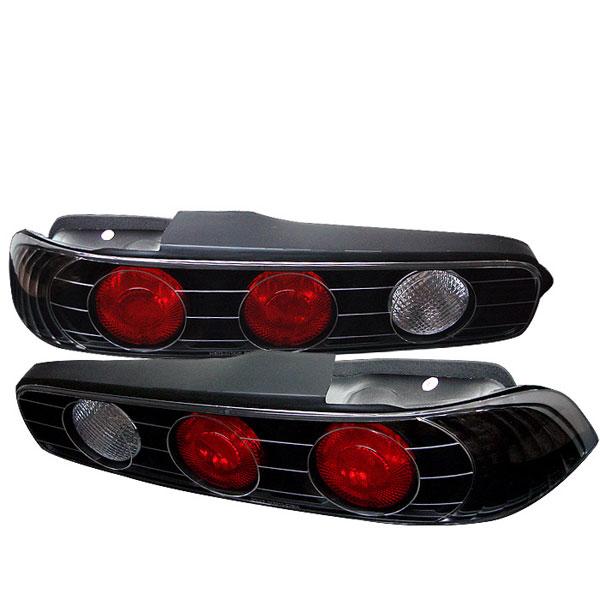 Spyder 5000248 |  Acura Integra 2Dr Altezza Tail Lights - Black - (ALT-YD-AI94-BK); 1994-2001