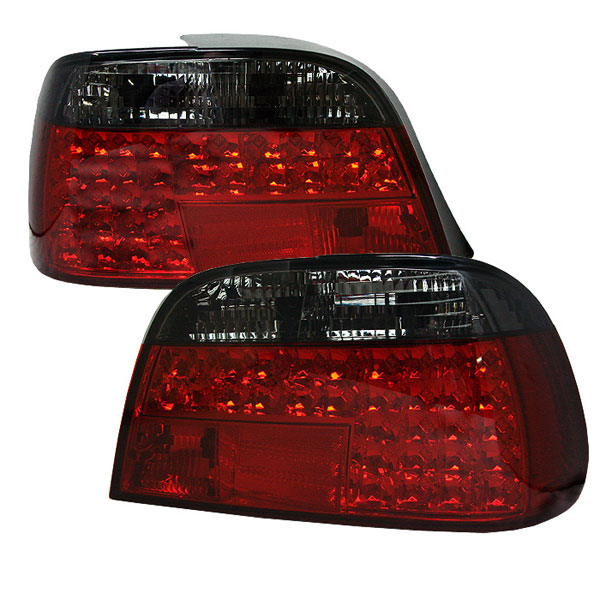 Spyder ALT-YD-BE3895-LED-RS:  BMW E38 7-Series 95-01 LED Tail Lights - Red Smoke