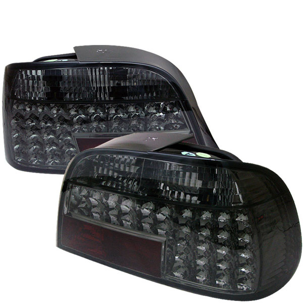 Spyder (5000644)  BMW E38 7-Series 95-01 LED Tail Lights - Smoke  - (ALT-YD-BE3895-LED-SM)