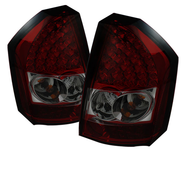 Spyder ALT-YD-C308-LED-RS:  Chrysler 300C 08-10 LED Tail Lights - Red Smoke