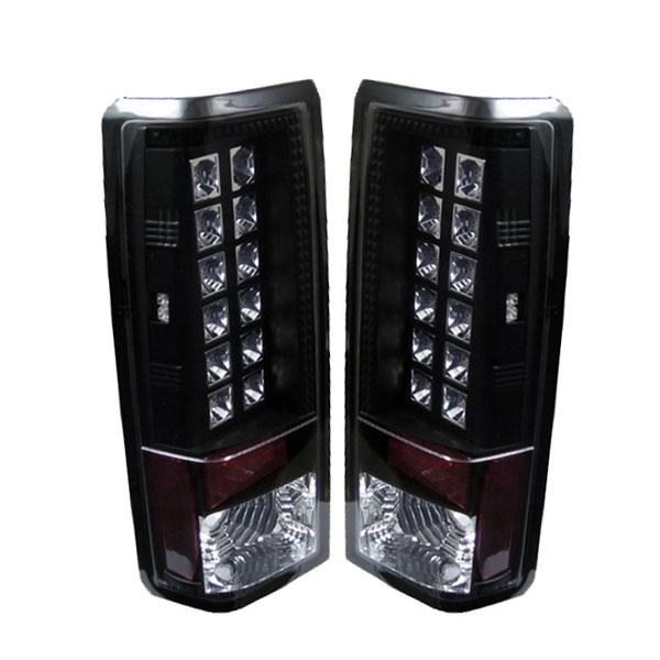 Spyder (5001023)  Chevrolet Astro 85-05 LED Tail Lights - Black  - (ALT-YD-CAS85-LED-BK)