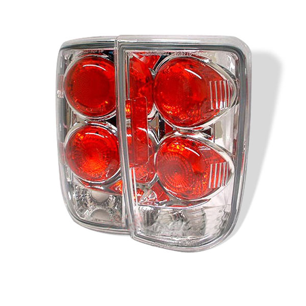 Spyder (5001153)  Chevrolet Blazer 95-05 Altezza Tail Lights - Chrome  - (ALT-YD-CB95-C)