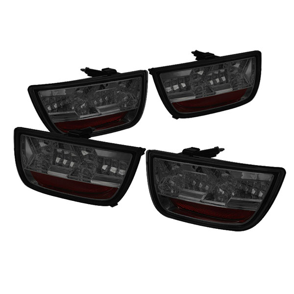 Spyder 5032201 |  Chevrolet Camaro 10-12 LED Tail Lights - Smoke  - (ALT-YD-CCAM2010-LED-SM)