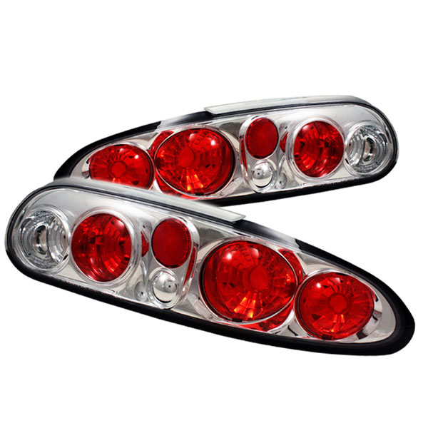 Spyder ALT-YD-CCAM98-C:  Camaro 98-02 Altezza Tail Lights - Chrome V8 / V6