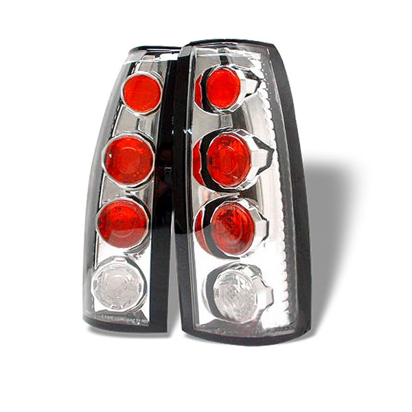 Spyder 5001290:  C-10 88-98 Altezza Tail Lights - Chrome  - (ALT-YD-CCK88-C)