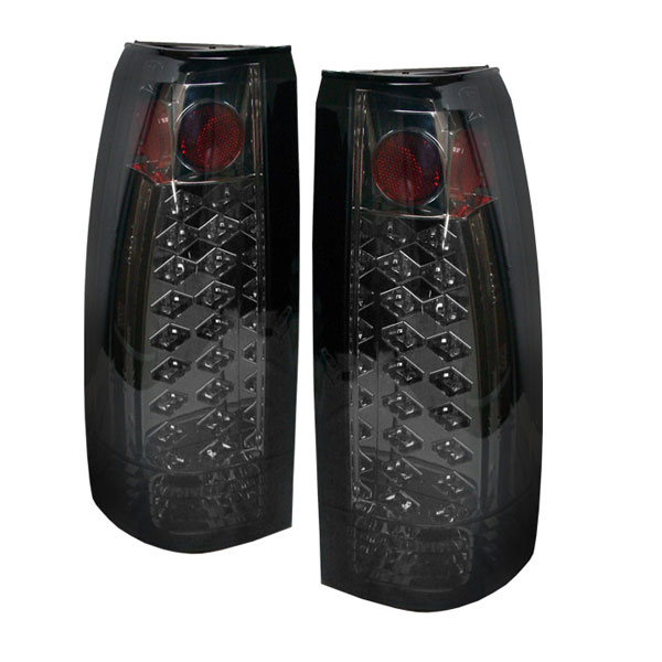 Spyder (5001399)  C-10 88-98 Led Tail Lights - Smoke  - (ALT-YD-CCK88-LED-SM)