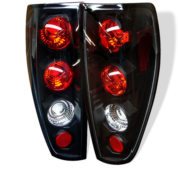 Spyder (5001412)  GMC Canyon 04-12 Altezza Tail Lights - Black  - (ALT-YD-CCO04-BK)