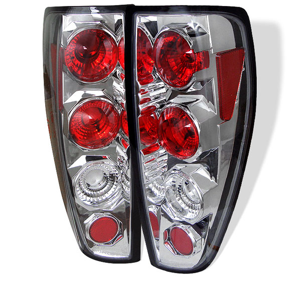 Spyder ALT-YD-CCO04-C:  Chevrolet Colorado 04-12 Altezza Tail Lights - Chrome