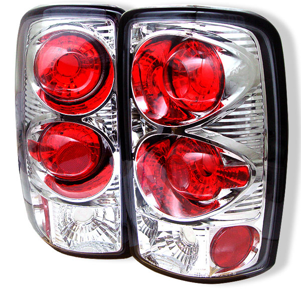 Spyder ALT-YD-CD00-C:  CHEVROLET SUBURBAN / TAHOE & 00-06 GMC YUKON / DENALI 00-06 Altezza Tail Lights - Chrome