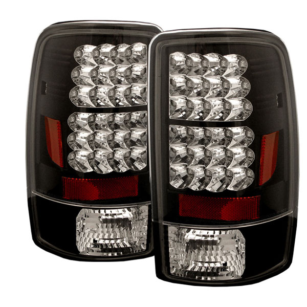 Spyder ALT-YD-CD00-LED-BK:  CHEVROLET SUBURBAN / TAHOE & 00-06 GMC YUKON / DENALI 00-06 Led Tail Lights - Black