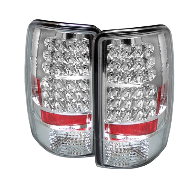 Spyder ALT-YD-CD00-LED-C:  CHEVROLET SUBURBAN / TAHOE & 00-06 GMC YUKON / DENALI 00-06 Led Tail Lights - Chrome