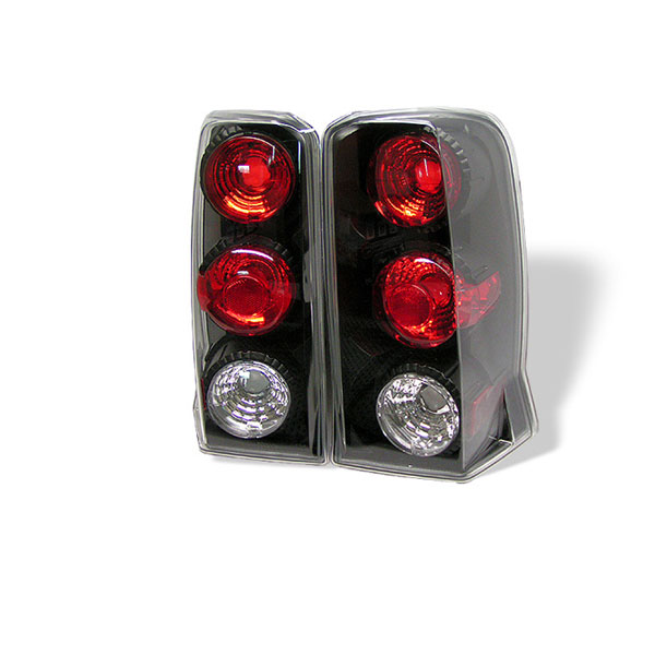 Spyder ALT-YD-CE02-BK:  Cadillac Escalade SUV ( Not EXT ) 02-06 Altezza Tail Lights - Black