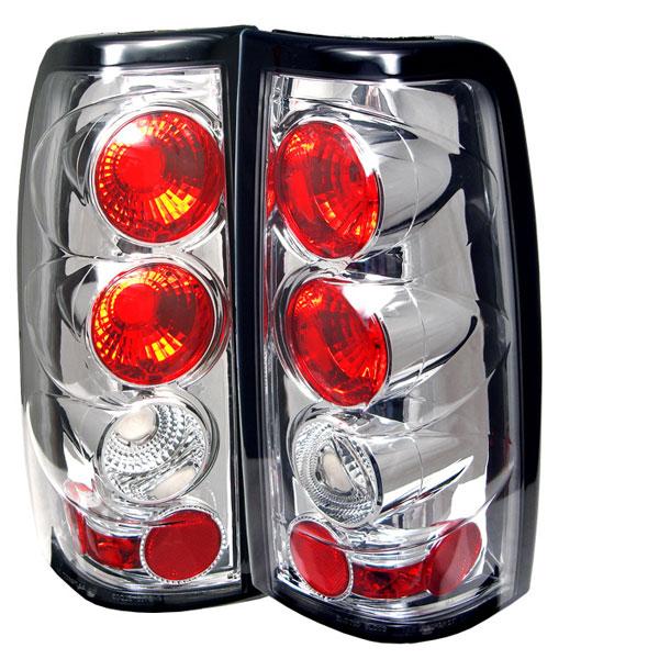 Spyder 5001702 |  Silverado 03-06 Altezza Tail Lights - Chrome  - (ALT-YD-CS03-C)