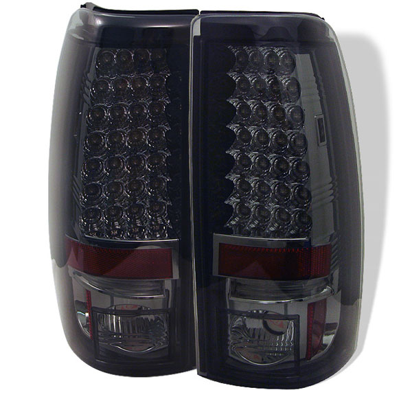 Spyder ALT-YD-CS03-LED-SM:  Silverado 03-06 Led Tail Lights - Smoke
