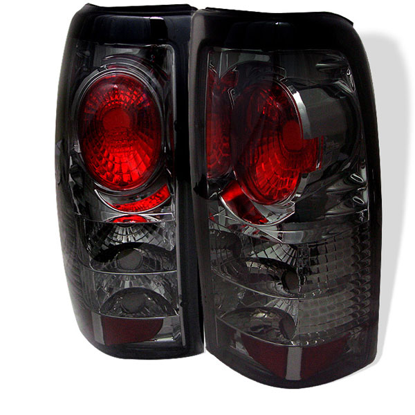 Spyder 5002099:  Silverado 99-02 Altezza Tail Lights - Smoke  - (ALT-YD-CS99-SM)