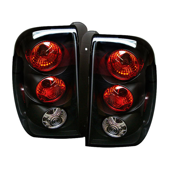 Spyder ALT-YD-CTB02-BK:  Trailblazer 02-04 Altezza Tail Lights - Black