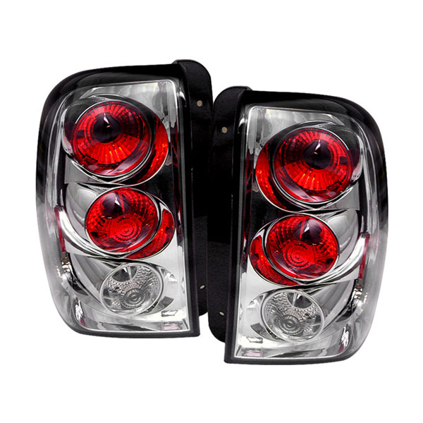Spyder 5002198:  Trailblazer 02-04 Altezza Tail Lights - Chrome  - (ALT-YD-CTB02-C)