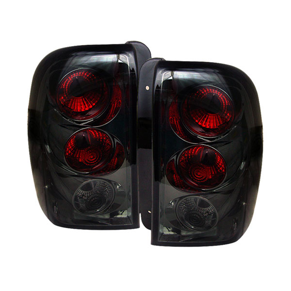 Spyder ALT-YD-CTB02-SM:  Chevrolet TrailBlazer 02-09 Altezza Tail Lights - Smoke