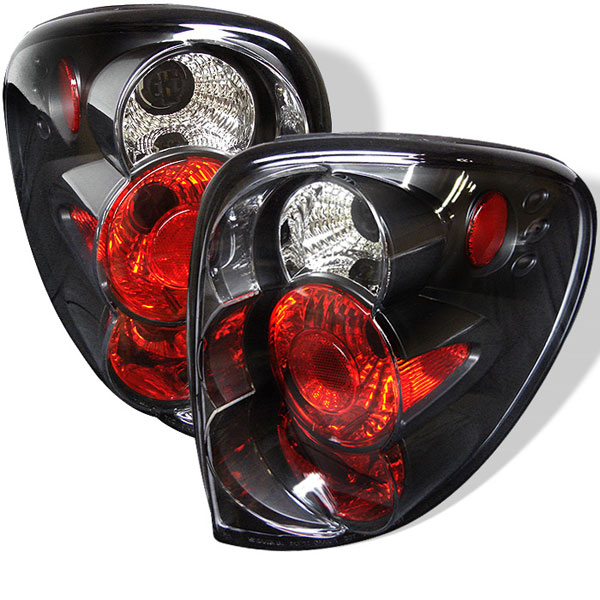 Spyder ALT-YD-DC01-BK:  Dodge Caravan/Grand Caravan 01-07 Altezza Tail Lights - Black