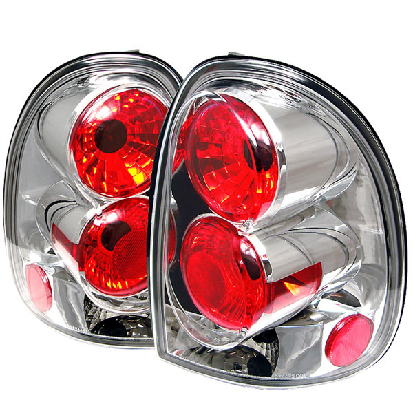 Spyder ALT-YD-DC96-C:  Chrysler Town & Country 96-00 / Plymouth Voyager/Grand Voyager 96-00 Altezza Tail Lights - Chrome