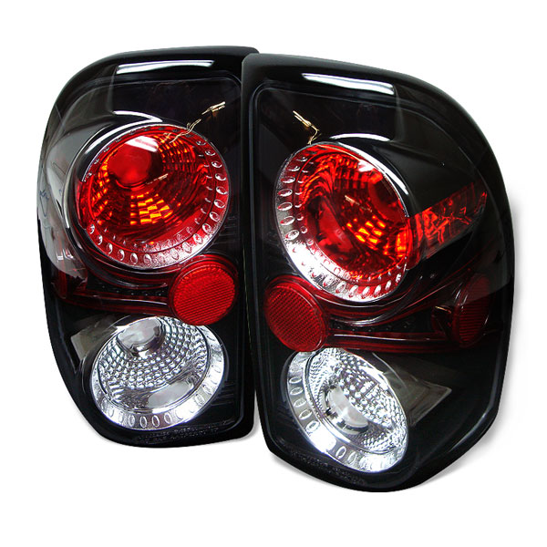 Spyder ALT-YD-DDAK97-BK:  Dodge Dakota 97-04 Altezza Tail Lights - Black