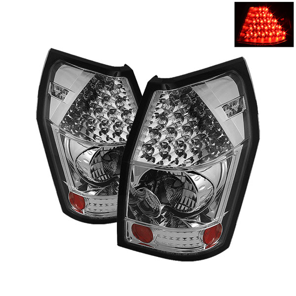 Spyder ALT-YD-DMAG05-LED-C:  Dodge Magnum 05-08 LED Tail Lights - Chrome
