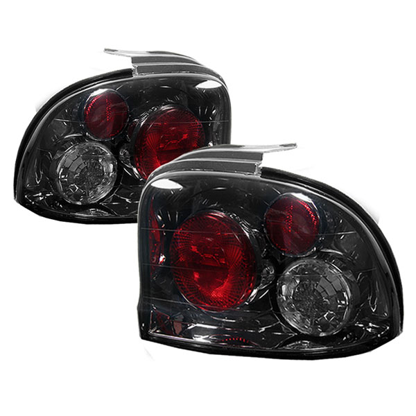 Spyder ALT-YD-DN95-SM:  Dodge Neon 95-99 Altezza Tail Lights - Smoke
