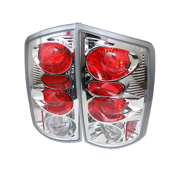 Spyder ALT-YD-DRAM02-C:  Dodge Ram 1500 02-06 Altezza Tail Lights - Chrome