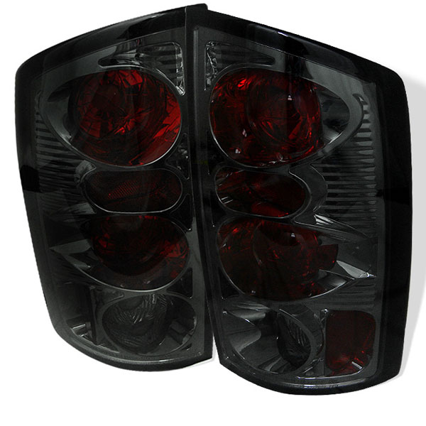 Spyder (5002600)  Dodge Ram 2500 02-05 /Ram 3500 02-05 Altezza Tail Lights - Smoke  - (ALT-YD-DRAM02-SM)
