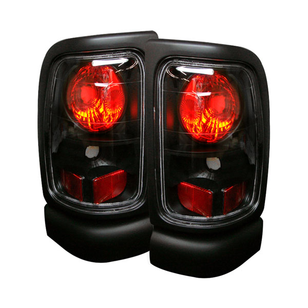 Spyder ALT-YD-DRAM94-BK:  Dodge Ram 1500 94-01 Altezza Tail Lights - Black