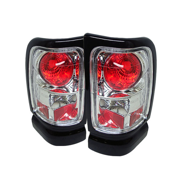 Spyder ALT-YD-DRAM94-C:  Dodge Ram 1500 94-01 Altezza Tail Lights - Chrome