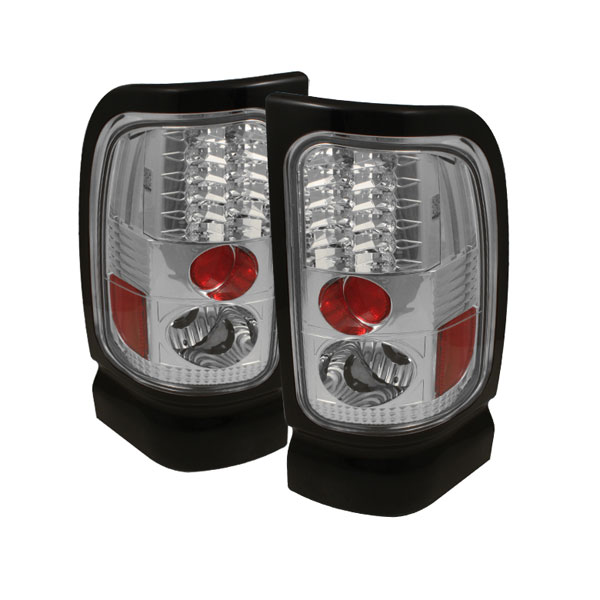 Spyder ALT-YD-DRAM94-LED-C:  Dodge Ram 1500 94-01 LED Tail Lights - Chrome