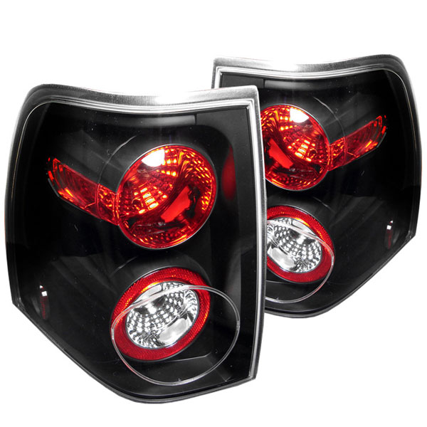 Spyder ALT-YD-FE03-BK:  Ford Expedition 03-06 Altezza Tail Lights - Black
