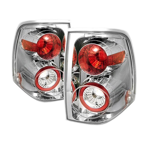 Spyder ALT-YD-FE03-C:  Ford Expedition 03-06 Altezza Tail Lights - Chrome