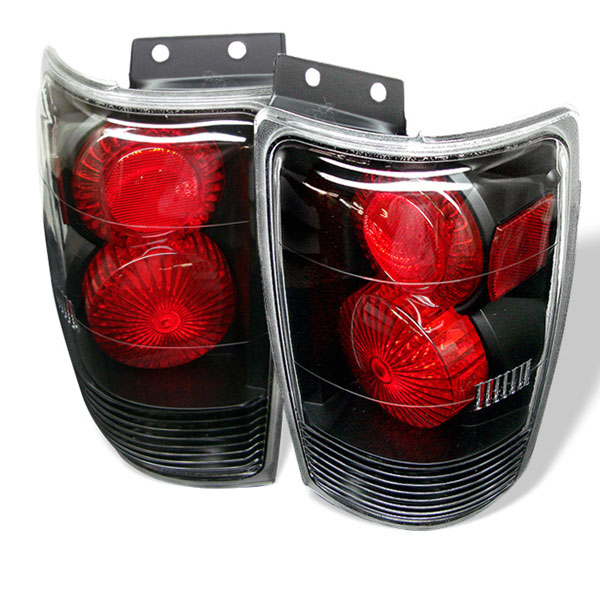 Spyder ALT-YD-FE97-BK:  Ford Expedition 97-02 Altezza Tail Lights - Black