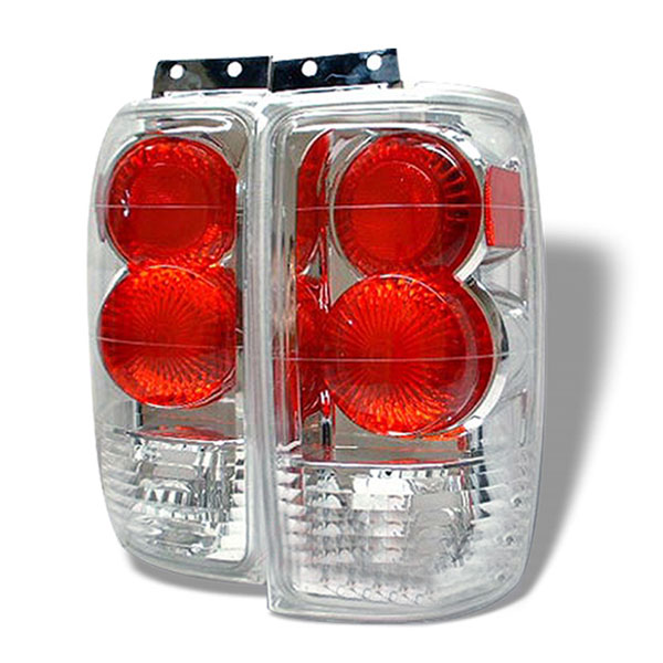 Spyder ALT-YD-FE97-C:  Ford Expedition 97-02 Altezza Tail Lights - Chrome