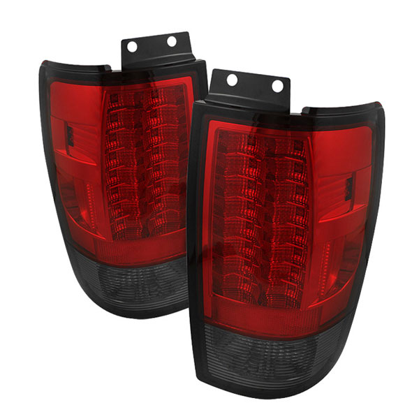 Spyder ALT-YD-FE97-LED-G2-RS:  Ford Expedition 97-02 Version 2 LED Tail Lights - Red Smoke