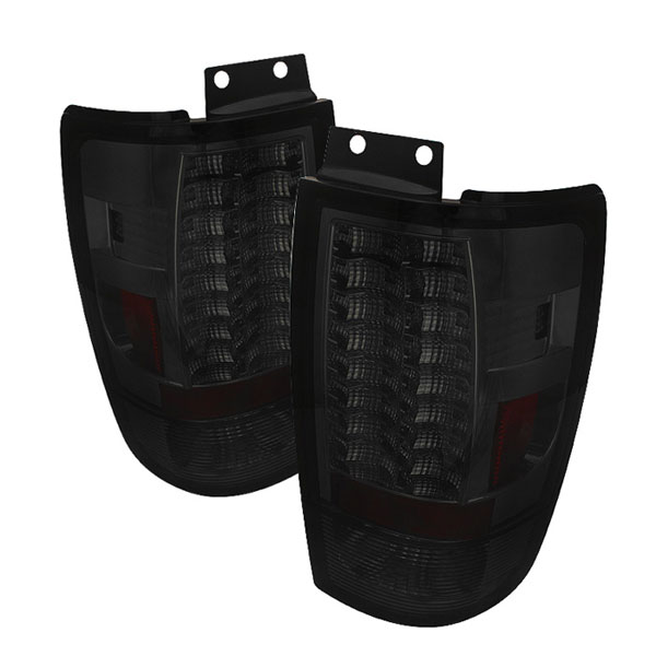 Spyder 5002891:  Ford Expedition 97-02 Version 2 LED Tail Lights - Smoke  - (ALT-YD-FE97-LED-G2-SM)