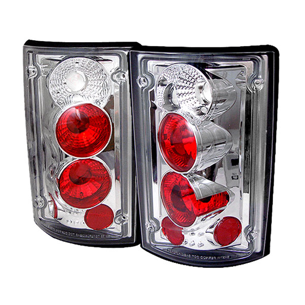 Spyder 5002921:  Ford Excursion 00-06 Altezza Tail Lights - Chrome  - (ALT-YD-FEC00-C)