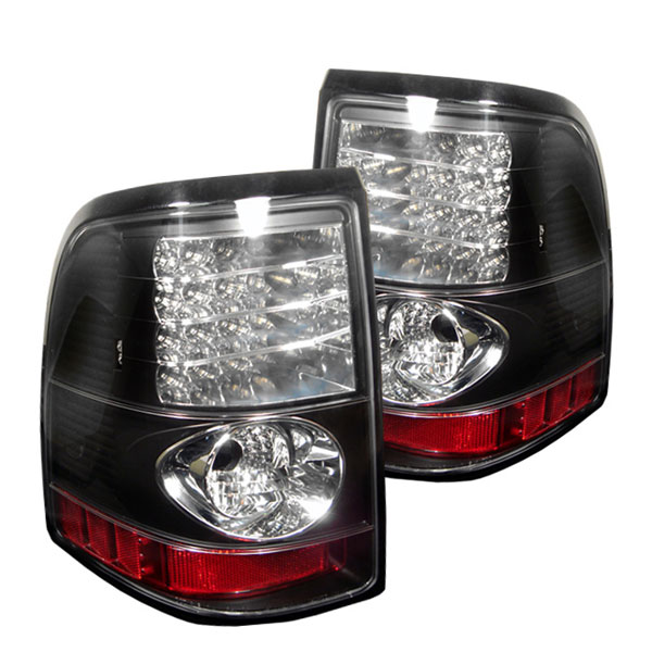 Spyder ALT-YD-FEXP02-LED-BK:  Mercury Mountaineer 02-05 LED Tail Lights - Black