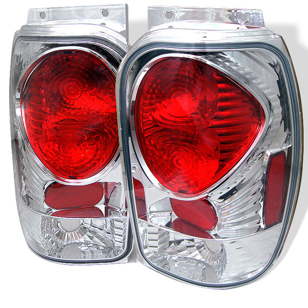 Spyder ALT-YD-FEXP98-C:  Mercury Mountaineer 97-01 Altezza Tail Lights - Chrome