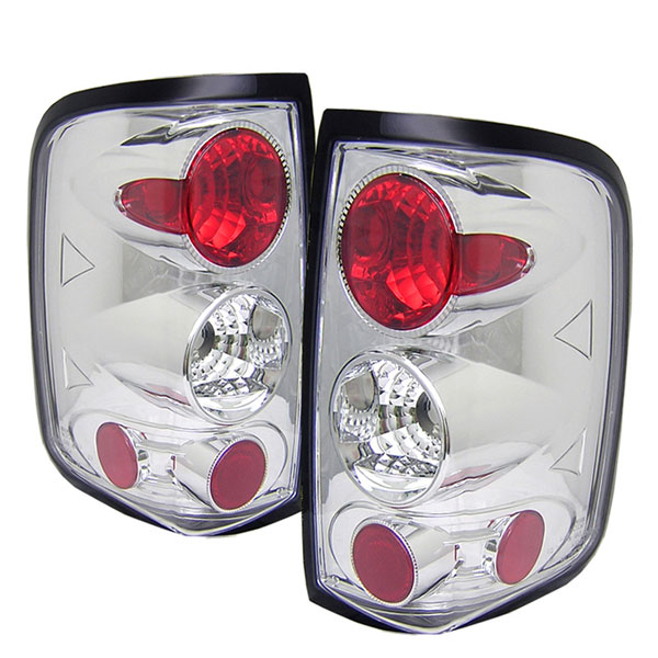 Spyder ALT-YD-FF15004-C:  Ford F150 Styleside 04-08 (Not Fit Heritage & SVT) Altezza Tail Lights - Chrome