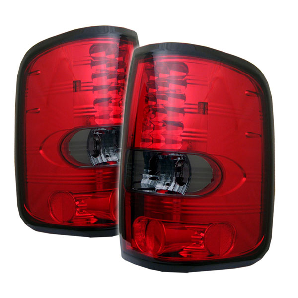 Spyder ALT-YD-FF15004-LED-RS:  Ford F150 Styleside 04-08 (Not Fit Heritage & SVT) LED Tail Lights - Red Smoke