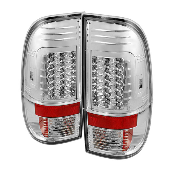 Spyder ALT-YD-FF15097-LED-G2-C:  Ford F150 Styleside 97-03 Version 2 LED Tail Lights - Chrome