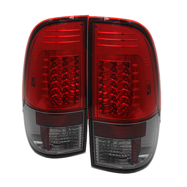 Spyder ALT-YD-FF15097-LED-G2-RS:  Ford F150 Styleside 97-03 Version 2 LED Tail Lights - Red Smoke