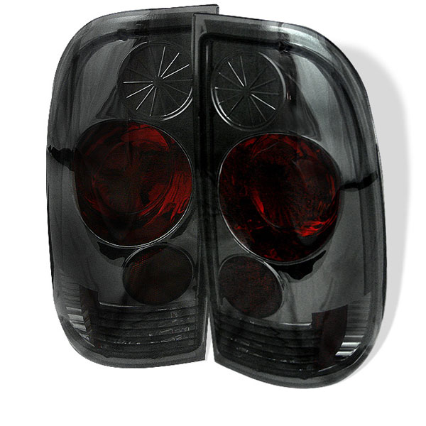 Spyder ALT-YD-FF15097-SM:  Ford F250/350/450/550 Super Duty 99-07 Altezza Tail Lights - Smoke