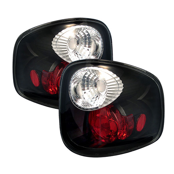 Spyder ALT-YD-FF15097FS-BK:  Ford F150 Flareside 97-03 Altezza Tail Lights - Black